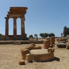 Valle dei Templi em Agrigento, Sicilia