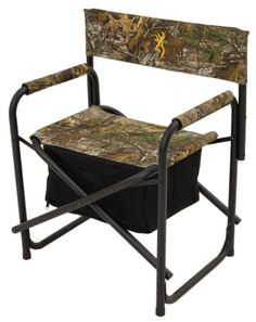 Browning Camping Directors Chair Plus with Insulated Cooler Bag by ALPS Mountaineering. Browning Camping Directors Chair Plus with Insulated Cooler Bag. Camping Furniture, Camping Chairs, Paint Furniture, Go Camping, Bedroom Furniture, Modern Furniture, Outdoor Furniture, Best Spray Paint, Outdoor Chairs