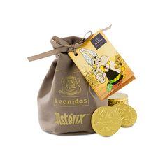 Sakiewka z pieniędzmi z czekolady - Asterix - Leonidas Pralineo Louis Vuitton Monogram, Pattern, Bags, Handbags, Patterns, Model, Bag, Totes, Swatch