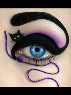 Après le nail art, place à l'eye art - Grazia