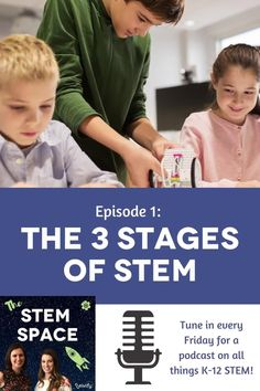 In this episode, Natasha and Claire discuss the 3 Stages of STEM, where skills like teamwork, problem solving, and collaboration are progressively built upon to complete challenges of increasing complexity within a STEM program. Tune in each Friday for a new episode! Math Games For Kids, Fun Math Activities, Engineering Design Process, Stem Careers, Teaching Tips, Student Learning, Math Lessons, Teamwork, Problem Solving