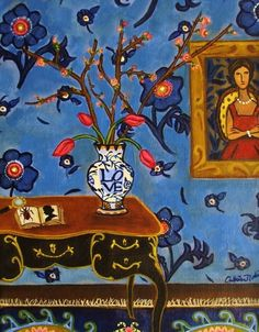 Matisse inspired paintings by Catherine Nolin