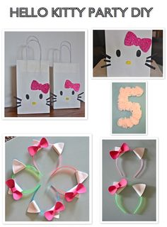 pictures of hello kitty parties | Hello Kitty Birthday Party