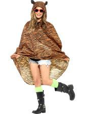 Tiger Party Poncho. Be ready for the weather in this classic,cool poncho http://www.novelties-direct.co.uk/party-theme-music-festival-tiger-party-poncho.html