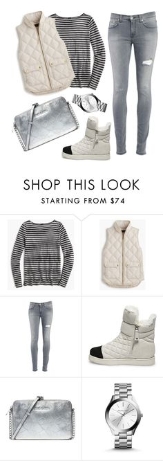 """Untitled #71"" by ekaterina-d-1 ❤ liked on Polyvore featuring J.Crew, Dondup, Steve Madden, Michael Kors, women's clothing, women, female, woman, misses and juniors"