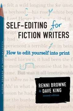 Self-Editing for Fiction Writers, Second Edition: How to Edit Yourself Into Print von Renni Browne und weiteren, http://www.amazon.de/dp/B003JBI2YI/ref=cm_sw_r_pi_dp_4CPzwb0CPNZ9H