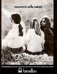 Risultati immagini per pubblicità maglierie benetton anni 70