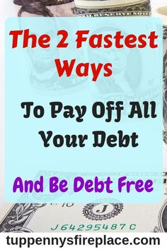 Read about the best ways to pay off your debt and become debt free. Pay off debt by using either the snowball or avalanche method of debt repayment. Manage your money more effectively using this financial advice and save money for your future. Debt Repayment, Debt Payoff, Debt Consolidation, Ways To Save Money, Money Saving Tips, Money Tips, Budget Help, Debt Free Living, Savings Plan