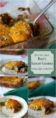 A southern comfort food classic made low carb! Eggplant casserole recipe is a…