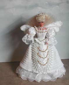 (1) CROCHET FASHION 365 WINGS OF LACE for 11 1/2 Fashion Dolls such as Barbie-Original Design from ICS Original Designs- Make with #10 Crochet Thread.  If you…