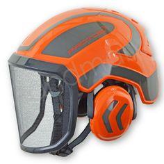 Protos Integral Arborist Helmet, orange/grey