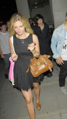 Harry leaving the Rose Club
