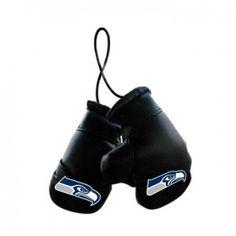Seattle Seahawks Mini Boxing Gloves Ornament
