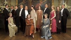 ITV. Downton Abbey
