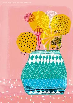 'Geometric Vase' by Paula Mills for Sweet William