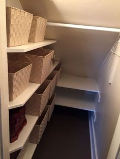 If you are looking for home storage ideas and good exploit for small spaces this article is for you and will give you 20 idea under stairs storage ideas with modern forms useful and practical. Shelves and storage spaces under . Under Stairs Cupboard Storage, Closet Under Stairs, Space Under Stairs, Staircase Storage, Closet Storage, Closet Organization, Under Stairs Pantry Ideas, Shelves Under Stairs, Organizing