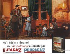 Butagaz - vintage ad
