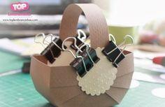 Como fazer cesta para Páscoa - Passo 5