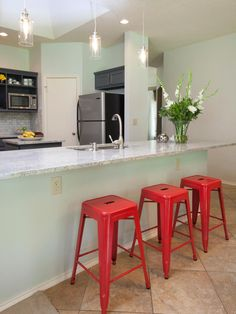 1000 Ideas About Mint Green Kitchen On Pinterest Green