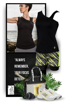 """Remember you Focus - Nicole's Tennis Boutique"" by christiana40 ❤ liked on Polyvore featuring Jofit and adidas"