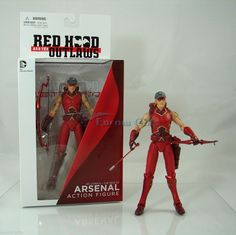 """DC Comics Arsenal Action Figure New 52 Red Hood and The Outlaws 6"""" Collectible"""