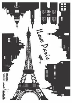 Easy Instant Decoration Wall Sticker Decal - Parisian Landscape by HYUNDAE sheet, http://www.amazon.com/dp/B002OO5EAG/ref=cm_sw_r_pi_dp_Nlk8pb0R7PF0T
