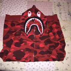 AUTHENTIC XL BAPE HOODIE 1ST RED ABC CAMO A BATHING APE BAPE JACKET (L)   fashion  clothing  shoes  accessories  mensclothing  activewear (ebay link) bf44db4e8162