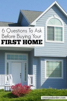 Are you ready to buy a house? If you are a first time home buyer, you need to ask yourself these questions before buying a house. buy a home buying your first home Home Buying Tips, Buying Your First Home, Home Buying Process, Up House, Happy House, First Time Home Buyers, Home Ownership, Home Hacks, My Dream Home