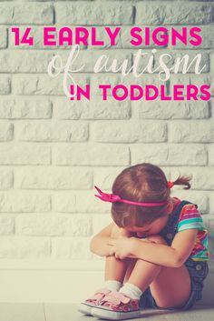 Would you know what to look for when it comes to the early signs of autism? Here are 14 early signs of autism in toddlers to look for.