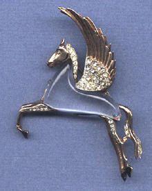 Airborne Forces Pegasus Blazer Badge Pegasus