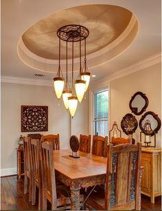 Dining Room Interior Design Ideas-Ceiling Design
