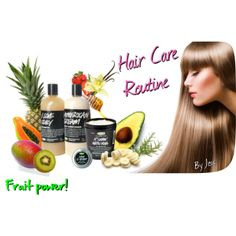 """""""Hair care routine"""" by jexy90 on Polyvore"""