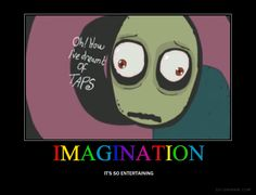 Salad fingers is so creepy, but i ♥ him