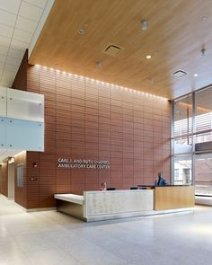 Boston Medical Center, Albany Street, Boston, US. ABMC wanted to introduce a memorable experience for visitors: a patient-friendly, consistent encounter across the many clinics, from arrival to departure.