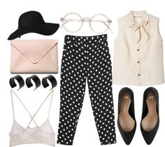 """""""polkadots, pastels; vintages"""" by jesicacecillia ❤ liked on Polyvore"""