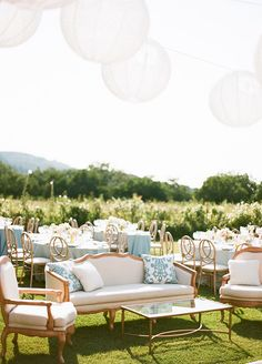 La Tavola Fine Linen Rental: Casblanca Turquoise Pillows | Photographer: Sylvie Gil Photography, Venue: Annadel Estate Winery, Wedding Planner: Rebecca Reategui, Floral Design: Cherries Flowers