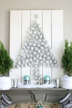 silver-christmas-tree-easy-to-make-with-this-diy-tutorial-for-the-holiday-ornament-display