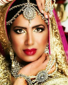 Indian makeup and ha