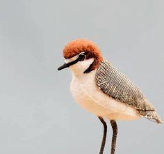 Pyrography and boho pretties Bird Sculpture, Soft Sculpture, Seaside Home Decor, Embroidered Bird, Bird Ornaments, Sea Birds, Fabric Manipulation, Felt Animals, Pyrography