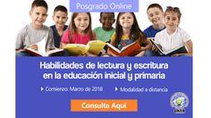 Posgrado Online: Habilidades de lectura y escritura en la educación inicial y primaria