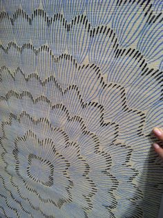 grasscloth wallpaper by Celerie Kemble
