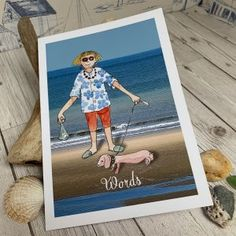 All Products • gorgeous gifts from the Seaside Emporium Us Beaches, Card Reading, Happy Anniversary, Dog Walking, Happy Mothers, Watercolor Illustration, Watercolor Paper, Your Cards, Seaside