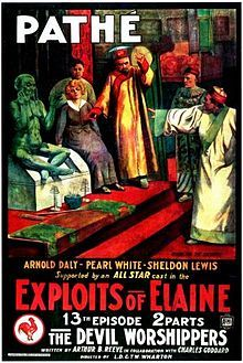 The Exploits of Elaine (1914). P: Whartons Studios. Selected in 1994.