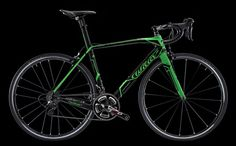 The Cento1SR in green fluo colour.   WILIER TRIESTINA Collection 2013.