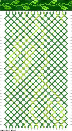 20 strings, 3 colors, 36 rows