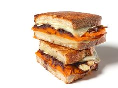 """Jeff Mauro adds roasted butternut squash for a sweet nuance to the balsamic onions and Manchego cheese. They don't call him """"The Sandwich King"""" for nothing."""