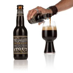 Pouring our beautiful stout. Flying Dutchman, Beer Brewing, Brewing Company, Craft Beer, Brewery, Coffee Maker, Bottles, Beautiful, Coffee Maker Machine