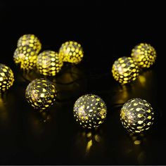 Moroccan Silver metal Globe Outdoor String Lights for Christmas Wedding Party Garden Lawn Patio Decoration LED Warm White) Globe String Lights, Indoor String Lights, Christmas String Lights, Xmas Tree Decorations, Light Decorations, Metal Lanterns, Lantern Lighting, Christmas Fairy, Christmas Wedding