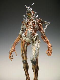 Forest Creatures, Alien Creatures, Fantasy Creatures, Arte Horror, Horror Art, Creature Feature, Creature Design, Character Art, Character Design