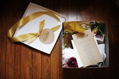 VIP Gift Box full of Products. Dazzling Details Wedding Bazaar